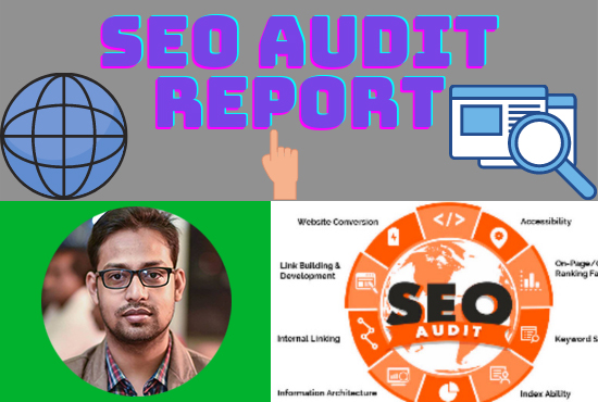 analysis and provide a professional web SEO audit report