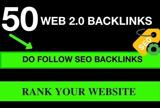 50 web 2.0 profile backlinks for google rankings