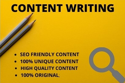 I will provide 500 word unique CONTENT/ARTICLE writing for your website or Blog