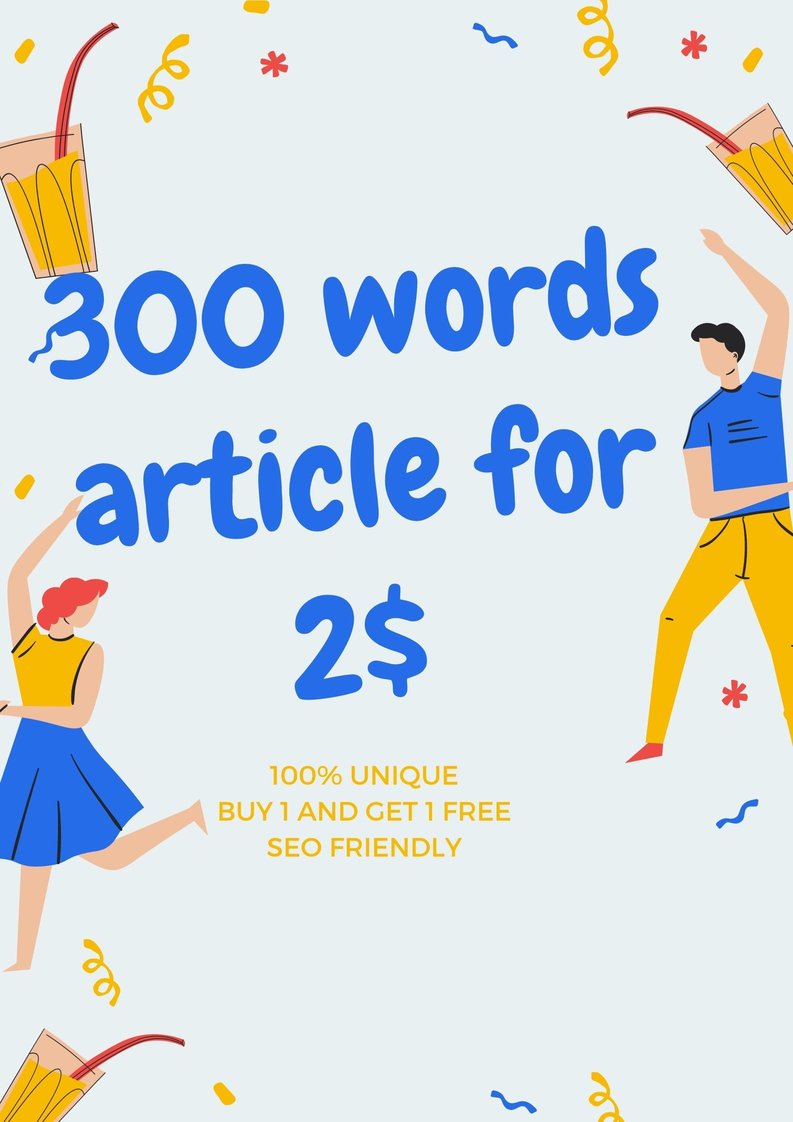 I will write 300 word seo article with in 24 hours