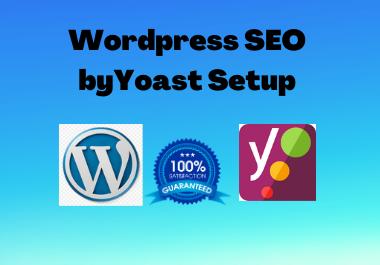 I will do wordpress yoast seo,  onsite on page optimization,  meta tag and schema markup
