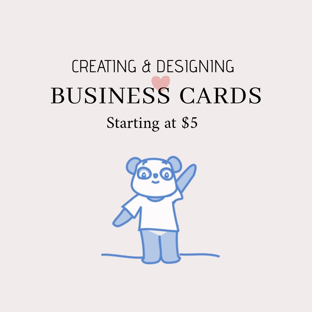 I will create and design your business cards