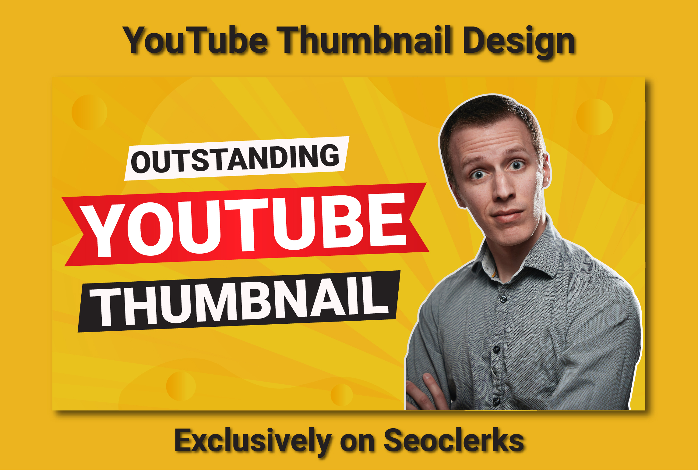 I will design amazing youtube thumbnails