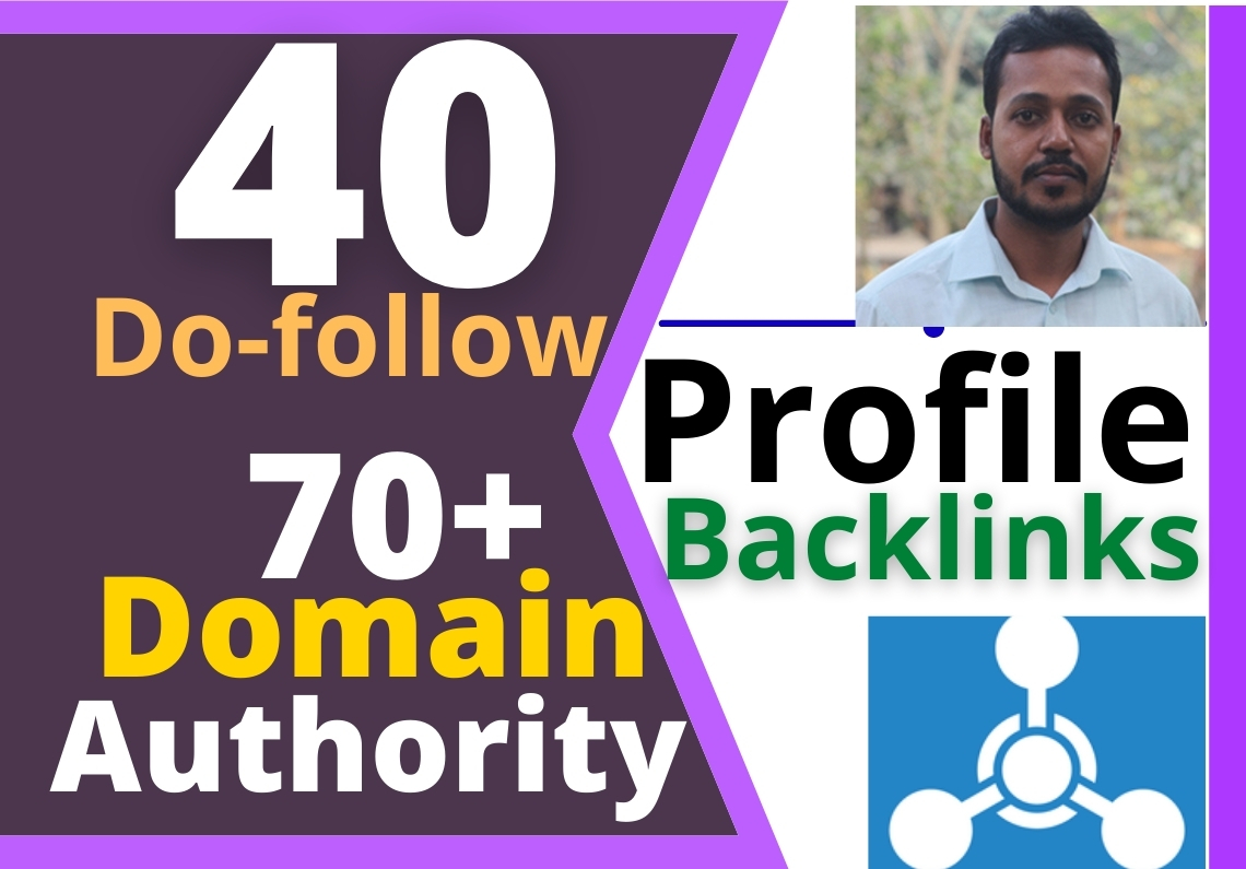 2021 Turbo Booster 40 Do-Follow Profile Backlinks