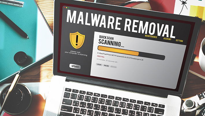 I will scan and clean your server from malware