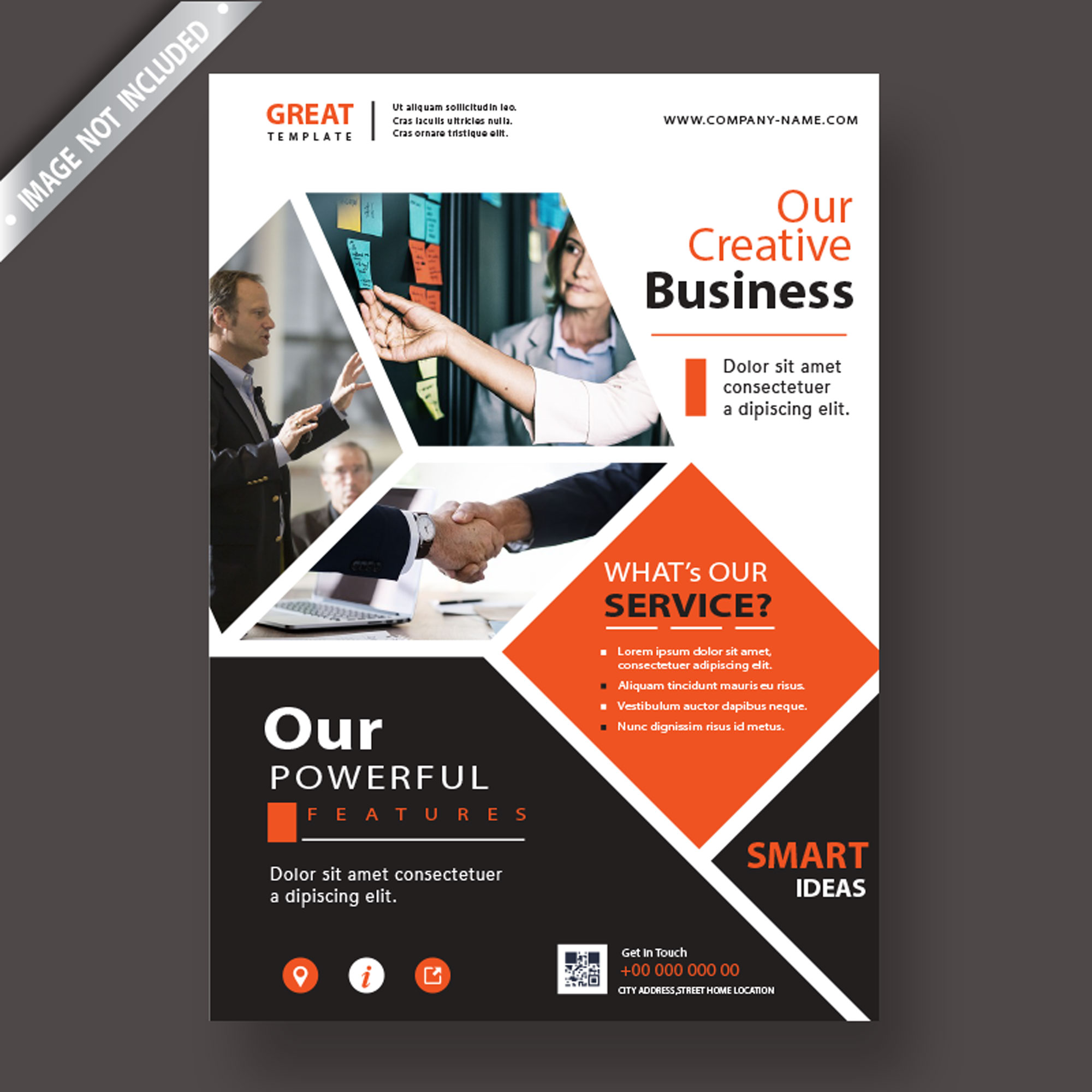 I will design Modern & creative Flyer for corporate, business & medical