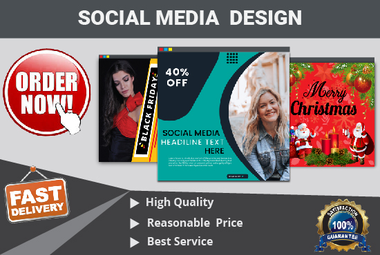 I will do Awesome social media or website banner design in 24 hours
