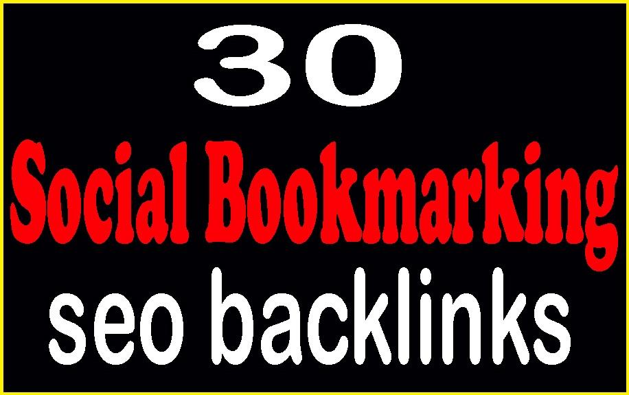 I do manually 30 do-follow high DA/DR low spam score social bookmarking
