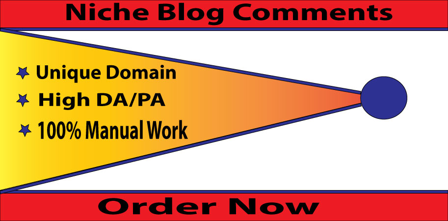 I Will Provide 40 Niche Relevant Blog Comments High Quality Backlinks