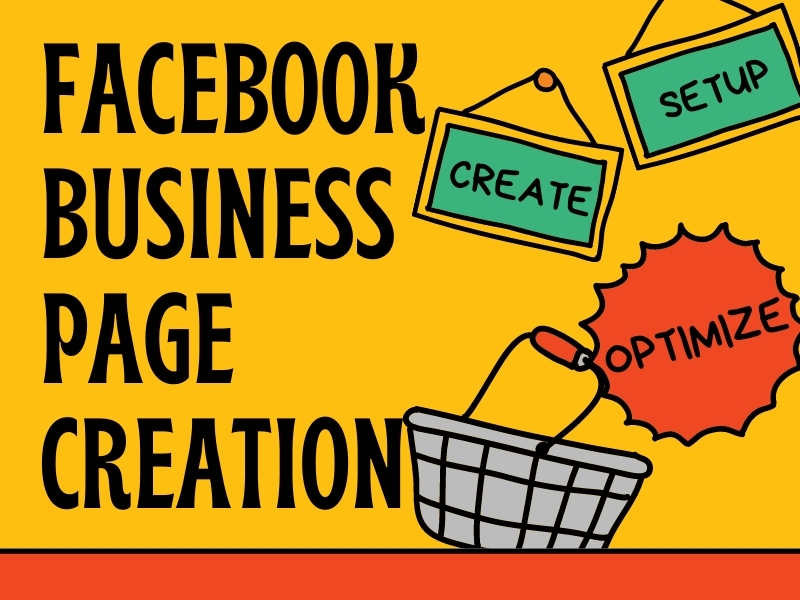 I will create a facebook busness page for you