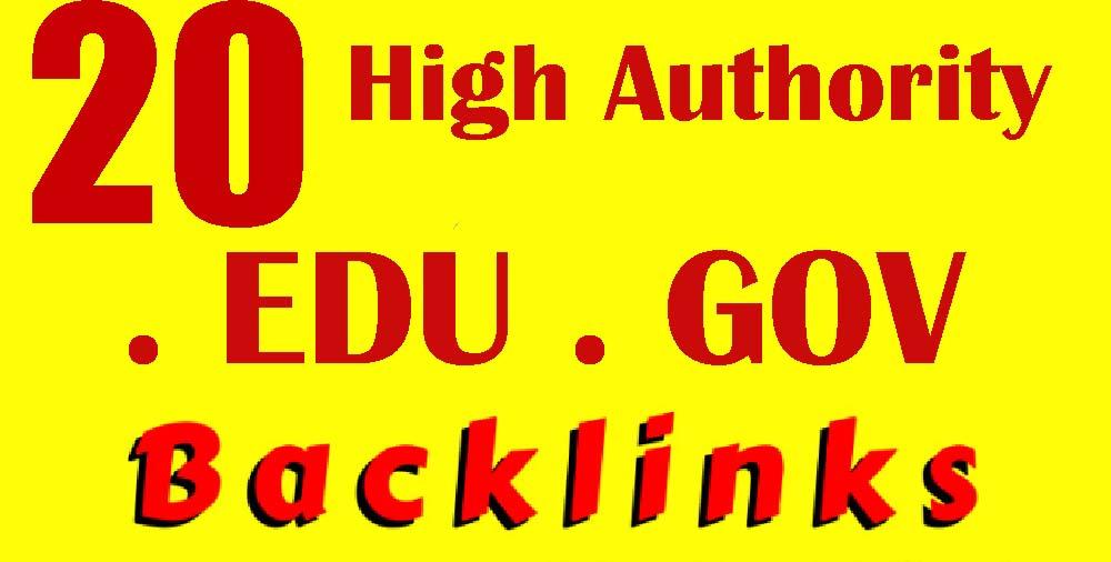 I Will Do 21 Top Class University. EDU. GOV Backlinks Helps To get Rank
