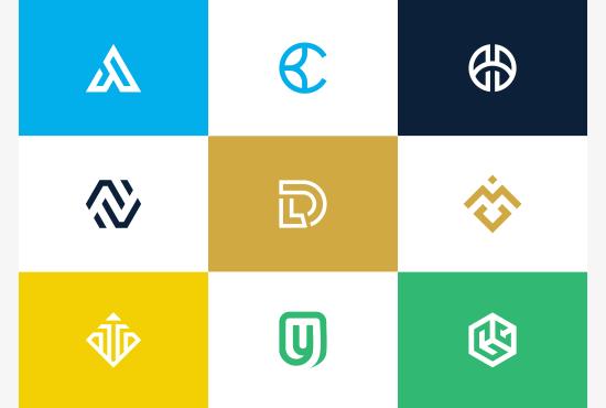 I will design lettermark monogram logo