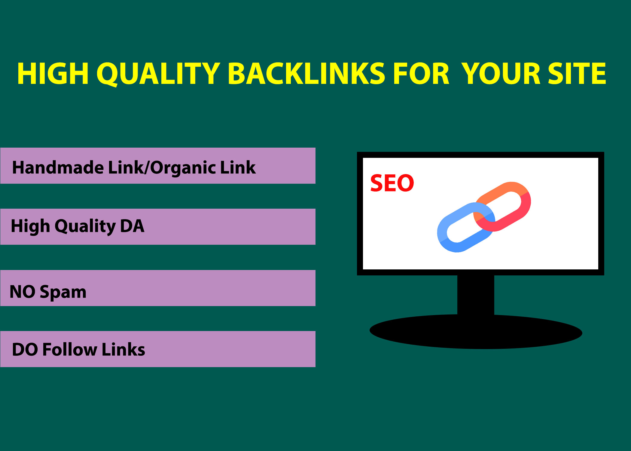 High Quality Backlins For Ranking Your Site