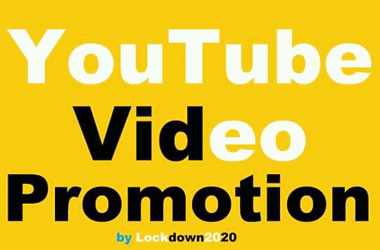 Add YouTube Video High Quality And Social Promotion Marketing
