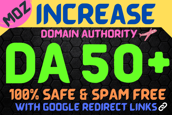 I Will Increase Your domain Authority 60 in 20 Days