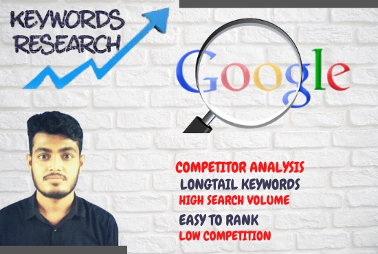 I will provide 400 Unique SEO keyword research and competitor analysis