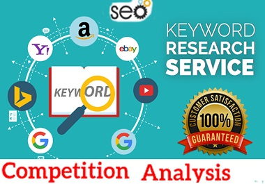 I will do SEO keyword research and competitor analysis for google website