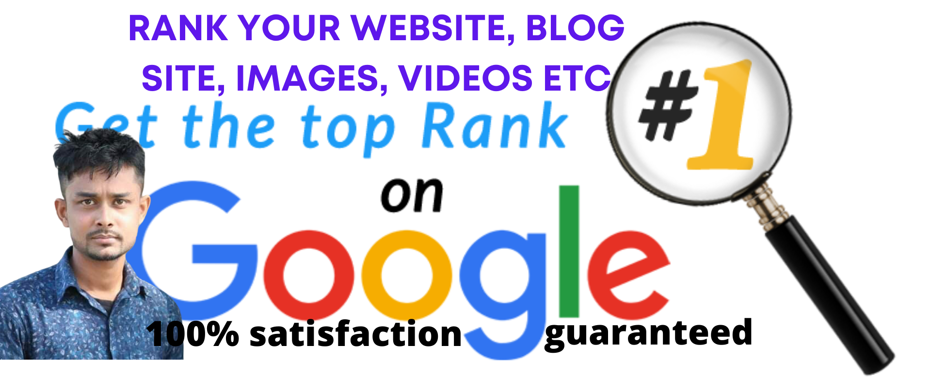 I will Rank first page on Google any Website guaranteed