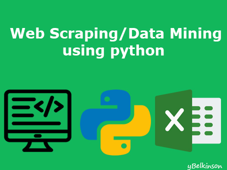 Python Web scraping and Data mining