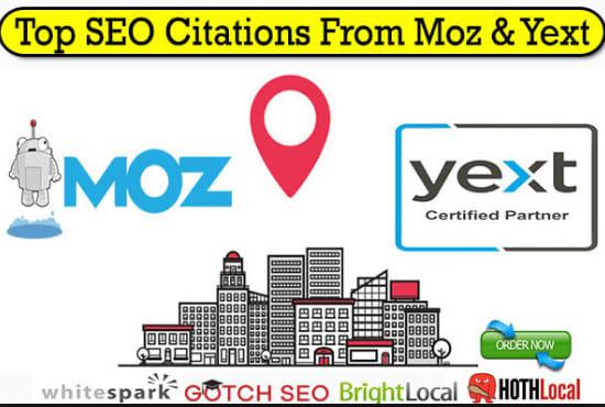 Do 30+ high da local citations manually for local SEO