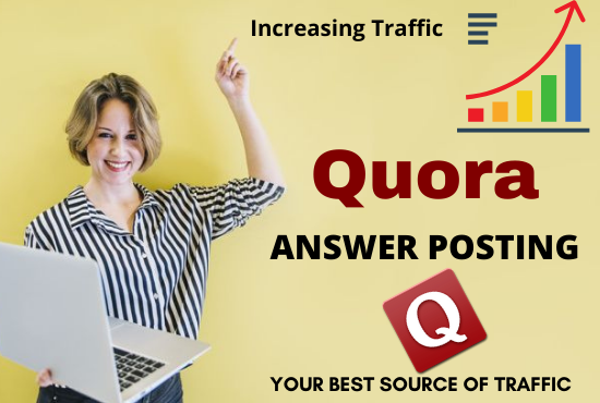 Promote your website by 15 High Quality Quora answer posting