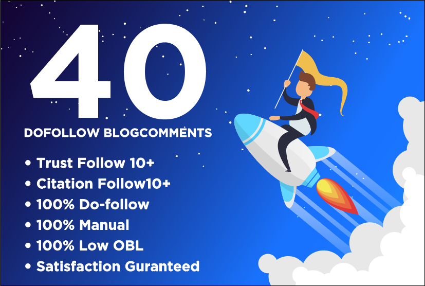 I Will Shoot Your Website Ranking In Google With 40 High Quality Dofollow Blogcomments Low Obl