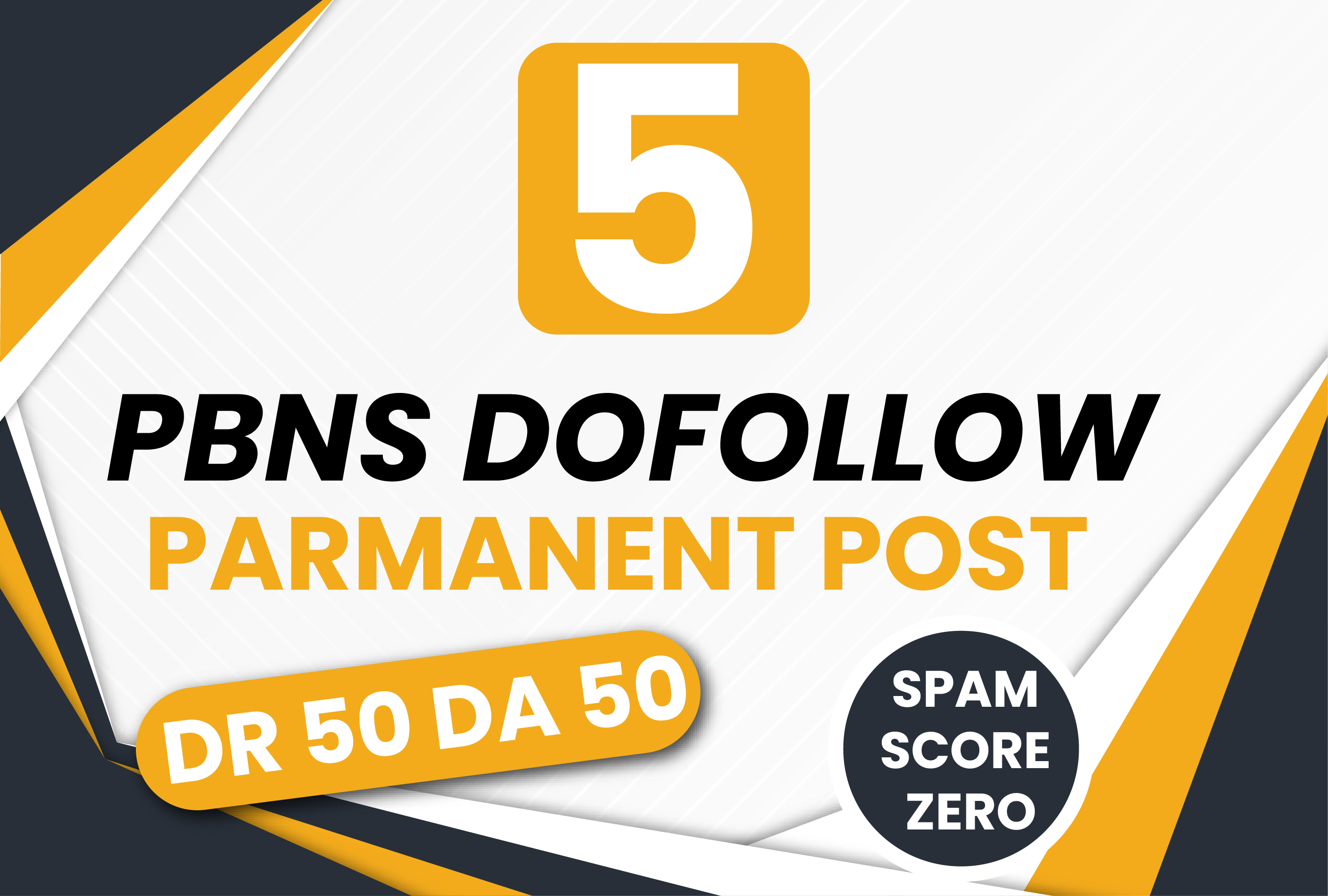 5 Manual High DR 50 DA 50 Plus Homepage PBNS Backlinks
