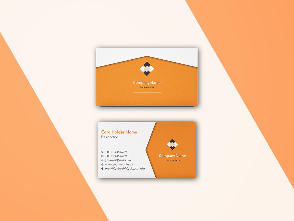 I will make a corporate business card design