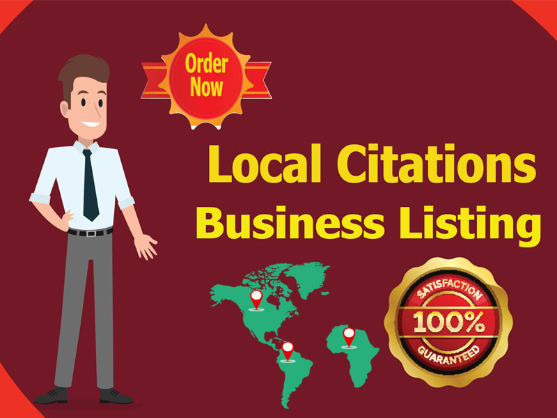 I will create 30 local business citations for USA, UK, CANADA