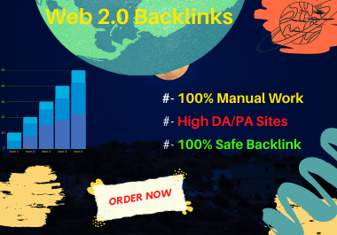 I Will Create 100 Web 2.0 Backlinks.