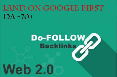 I will create 100 high authority seo backlinks.