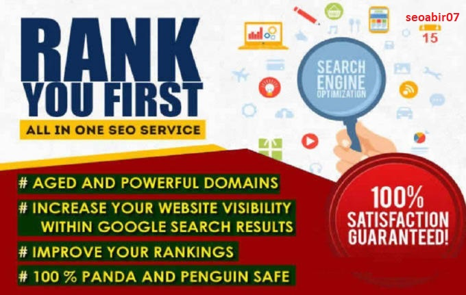 Provide 110 all in one manual SEO link building package