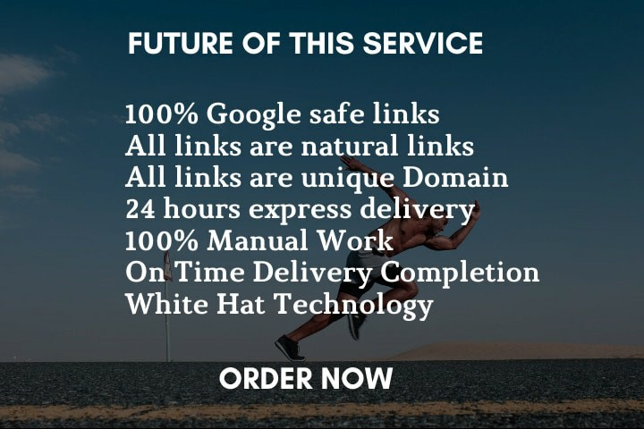 I will do 30 high authority backlinks for SEO link building manual
