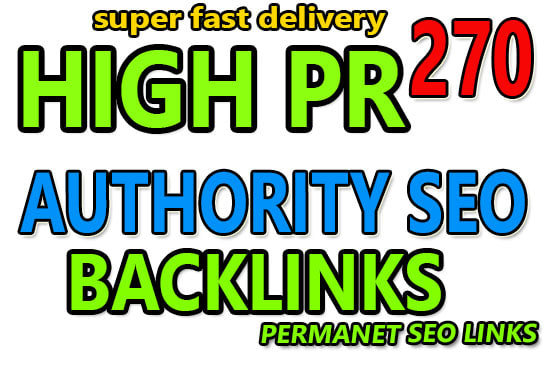 I Create 270 HQ profile backlinks manually for website seo.