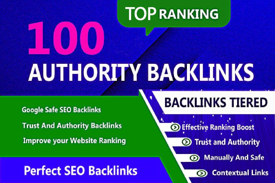 I ill build 100 edu gov backlinks high authority safe seo link building