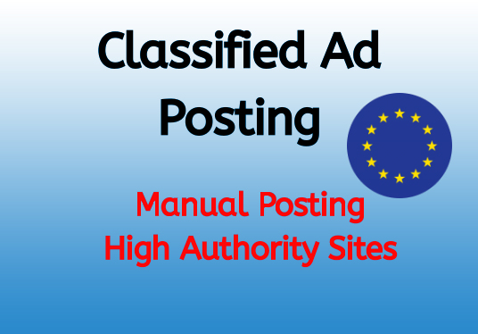 I will do promote high quality ad posting.