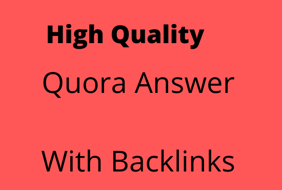 I will promote your website by 8 high quality answers posting in Quora