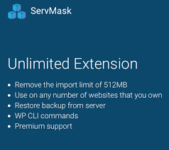 All-in-One WP Migration Unlimited Extension Premium