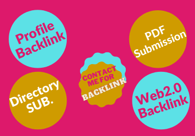I Will Manually Create 100+ High Authority Profile Backlinks DA up to 100 for 3. It's Safe & Trusted