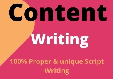 Do An Excellent Article or Content Writing,  for your site or blog with up-to 500 Words On 5.