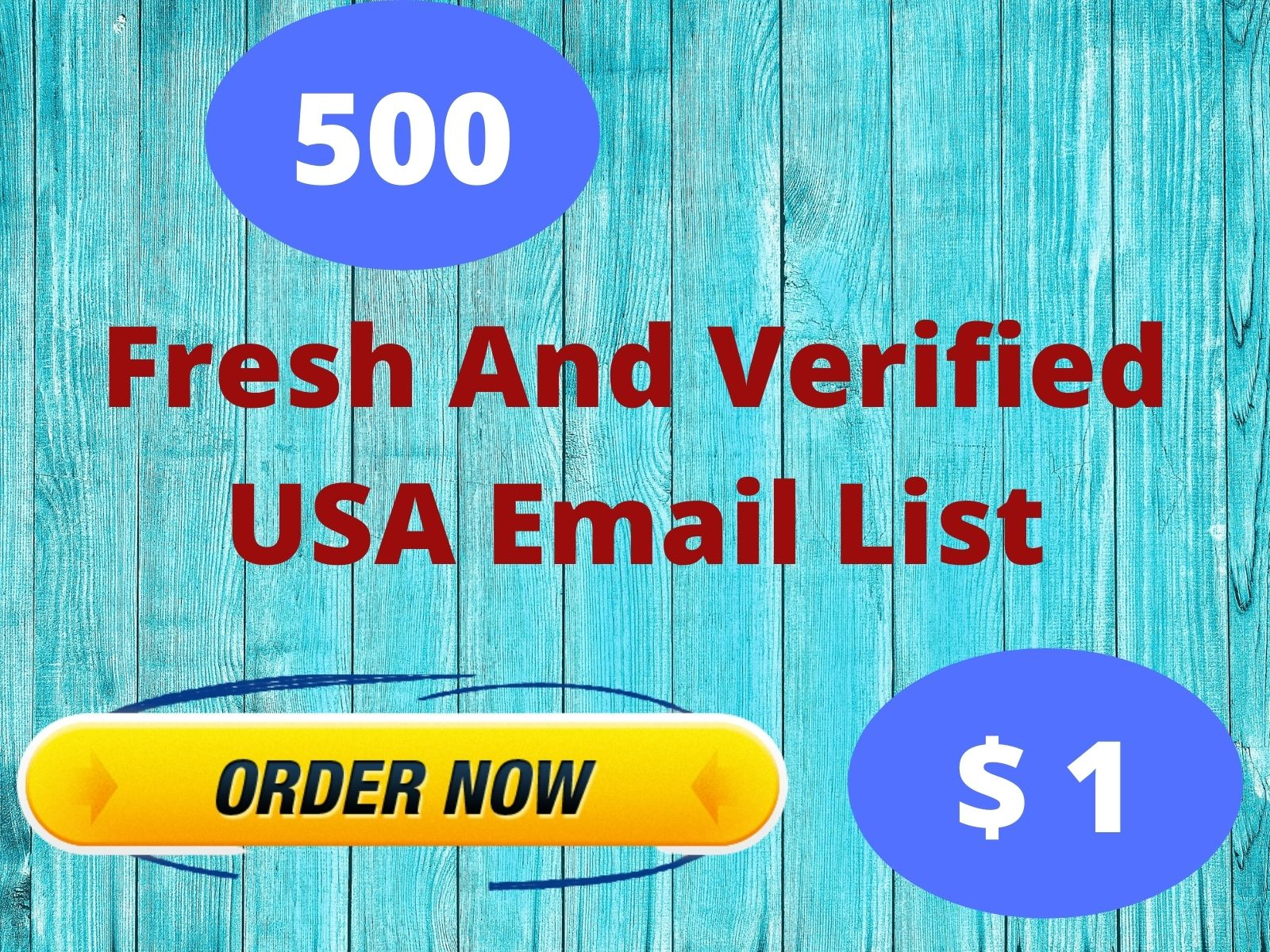Fresh And Verified USA Email List