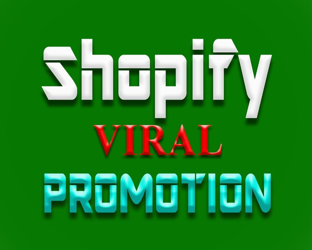 i will promote your shopify, etsy to rank on 1st page