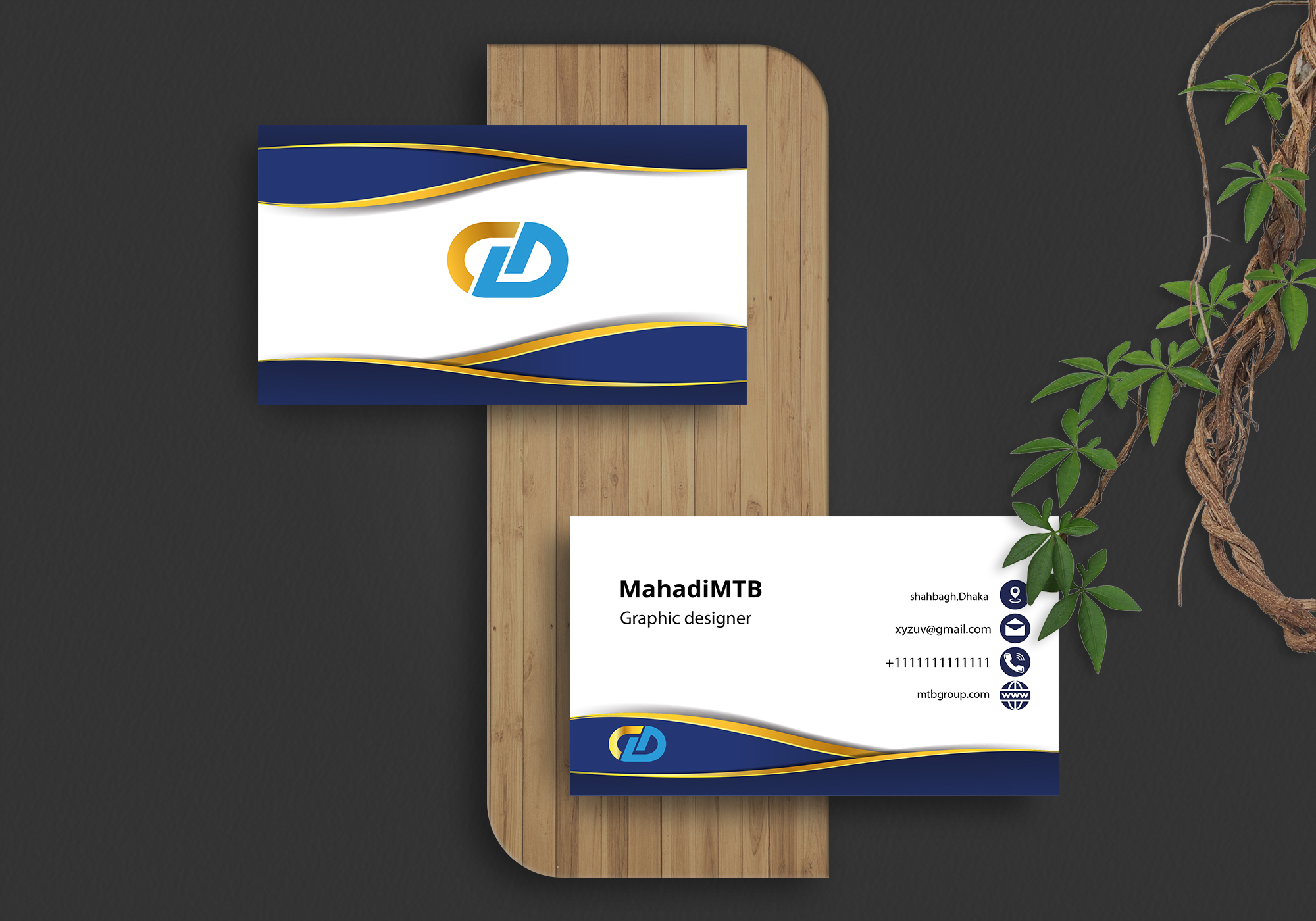 I will design classy and attractive business card in 24 hours