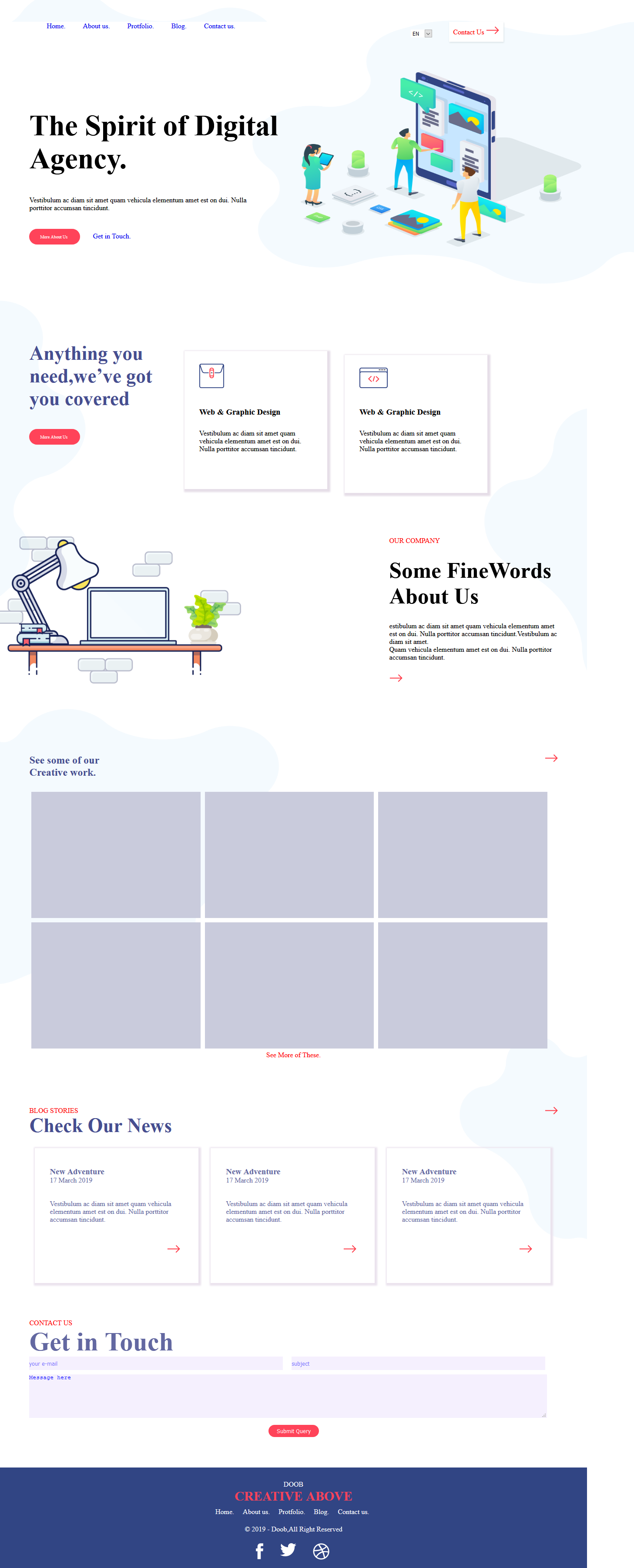 I will do Professional Website Design with High-quality responsive layout