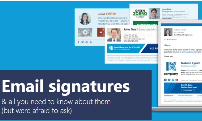 I Will do amazing Signature For your Email,  Outlook,  iPhone,  Android mail & WiseStamp