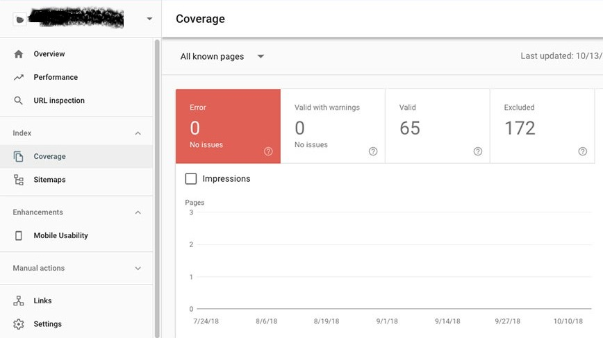 Spider help to Fixing all the Google indexing errors in the search console
