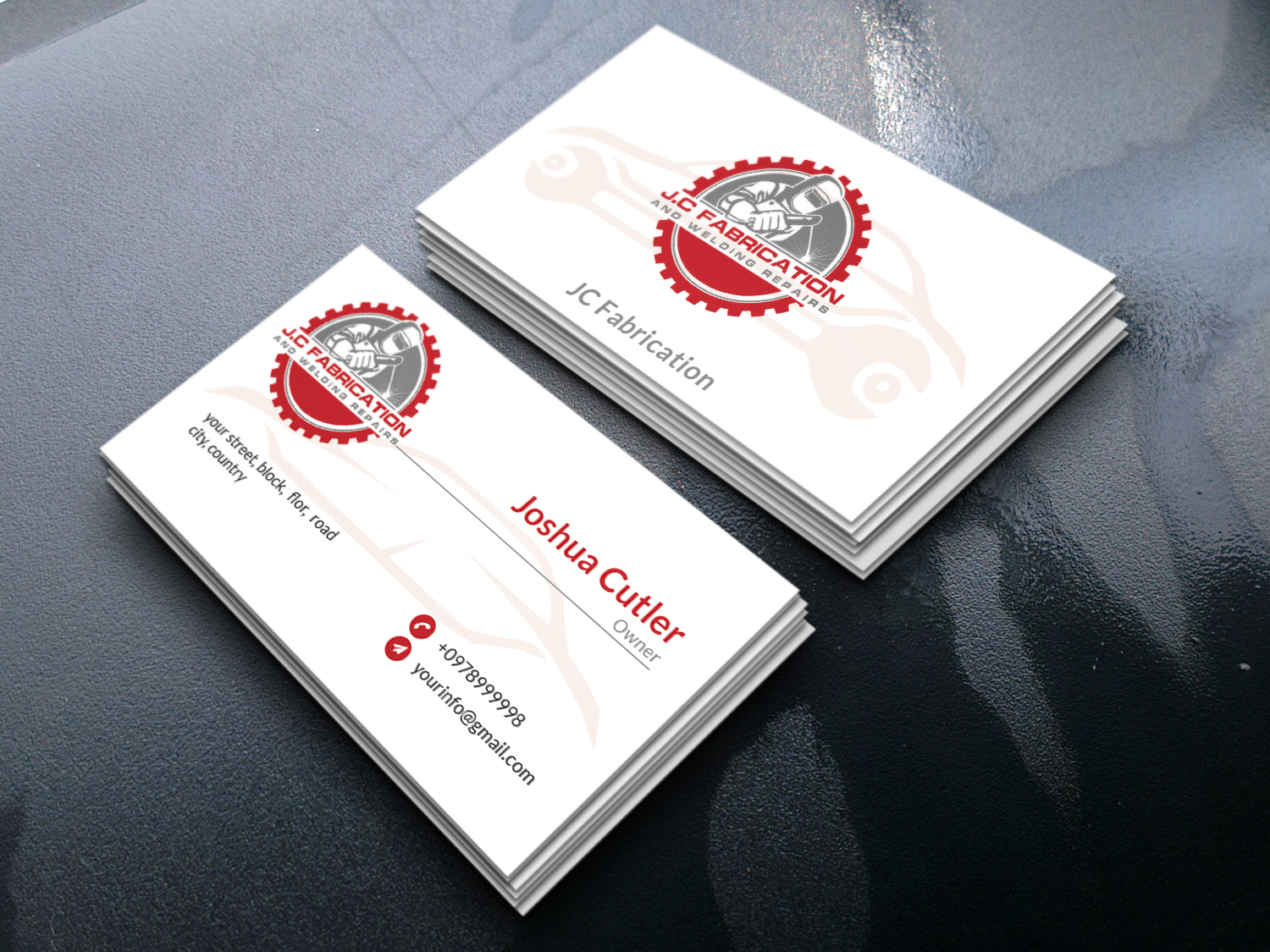 Minimalist professional Business Card Design