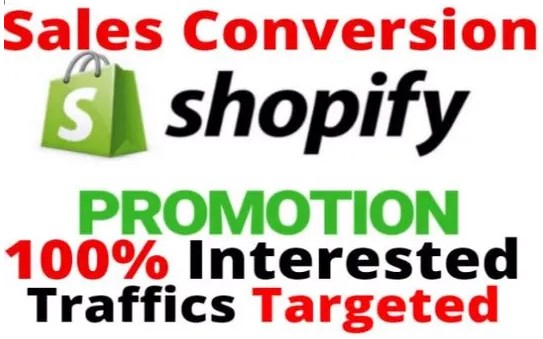 Promote Shopify Store,  Website or Offer with Real USA Web Traffic