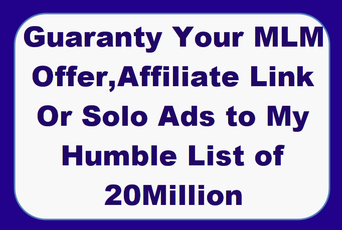 Send your Solo Ads,  Affiliate,  MLM or email ads to Over 150,000 targeted list for 60 Days