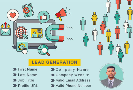 i will do targeted b2b lead generation,  web research and email list